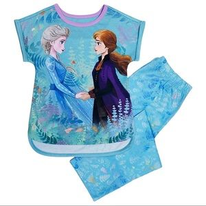 Disney Frozen Anna and Elsa Sleep Set Size 4/5